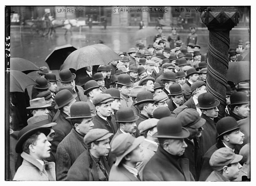 Lawrence strike meeting, New York  (LOC)