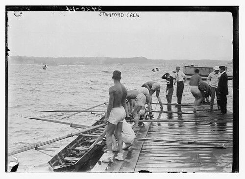[Stanford University crew, Hudson River, New York, near Poughkeepsie]  (LOC)