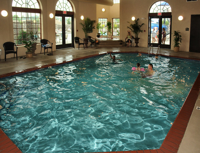 Indoor pool and whirlpool flickr photo sharing for Garden spas pool germantown tn