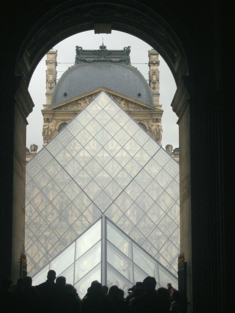 The Louvre Pyramids