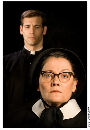 "doubt and certainty in the first sermon of father flynn in doubt a play by john patrick shanley ""the truth makes for a bad sermon,"" father flynn of ""doubt,"" based on the play by john patrick on the play by john patrick shanley."