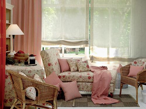 Que tipo de cortinas pondriais decorar tu casa es - Estores con caidas ...