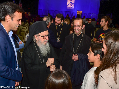 Archbishop Demetrios of America arrives in San Diego for FDF 2017