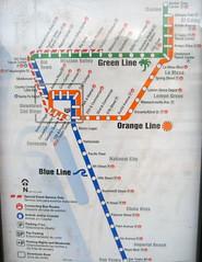 Trolley San Diego Map.San Diego Trolley Map 5 11 The San Diego Trolley Map Ci Flickr