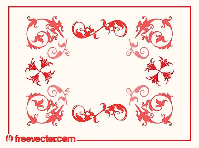 Swirly Frame Vector fresh best free vector packs kits