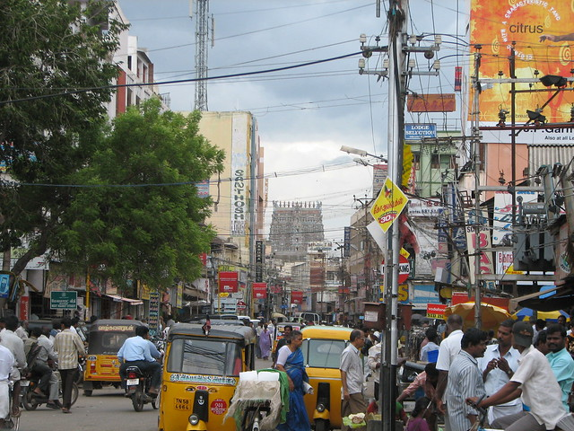 India - Madurai - 001 - typical south Indian cityscape