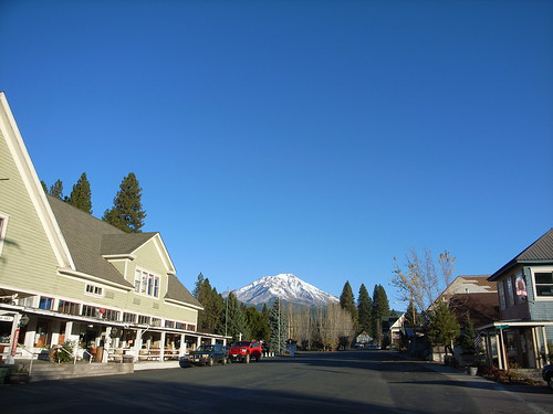Main Street in McCloud