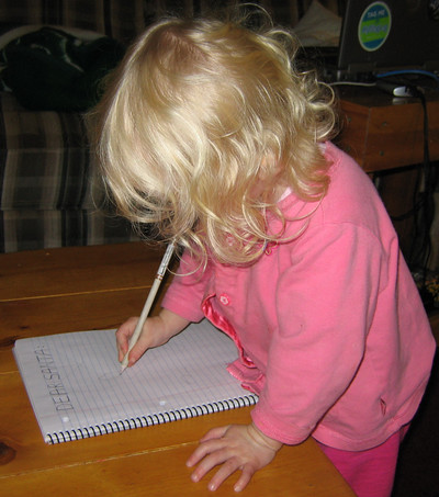 "Kaitlyn ""Writing"""