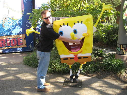 Tim  + Spongebob = BFF