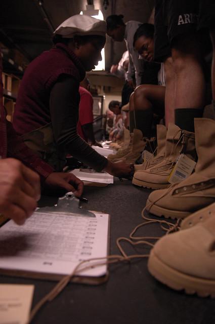 Туфли военные 8