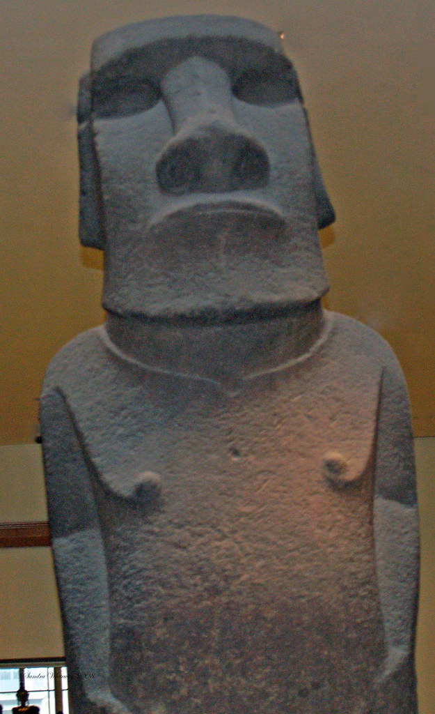 Hoa Hakananai'a, British Museum, London England