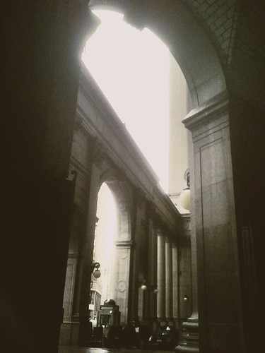 City Hall arches