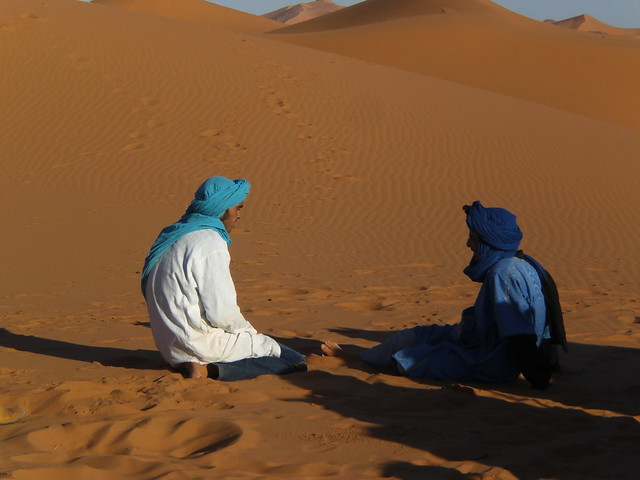 erg chebbi dunes - trek guides