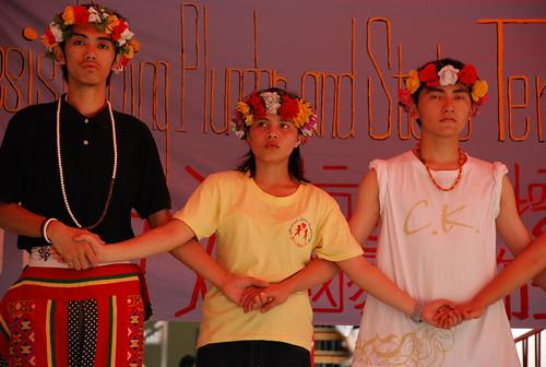 台大原聲帶卑南族祭典舞蹈/ Puyuma ritual dance by the Indiginous Students' Club, NTU