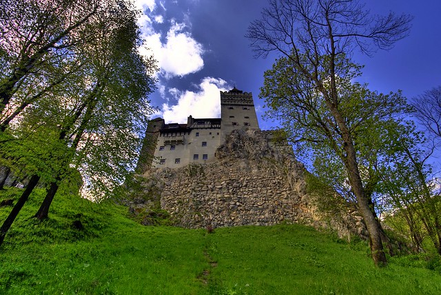 Castle of Dracula, Bran, Romania photo