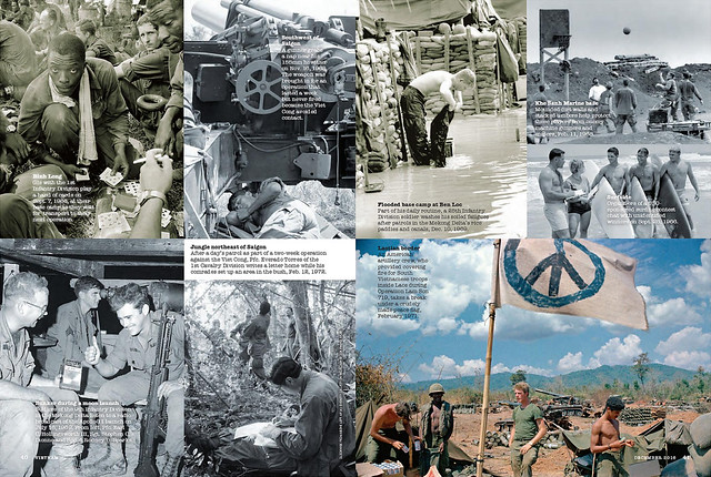 VIETNAM Magazine Dec 2016 (2) - At Ease - U.S. troops take a break from the war