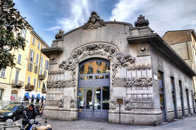 The first cinema in Milan