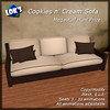 Megastuff Hunt - Lok's Cookies n Cream Sofa Megastuff Hunt 2014 512x512