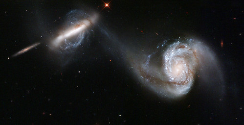 Arp 87 galaxy interaction from NASA