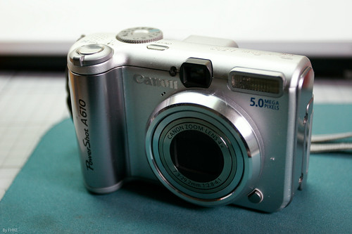 Modify an old camera (Canon PowerShot A610) for infrared photography!!!