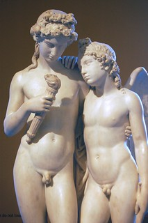 George Rennie's Cupid Rekindling the Torch of Hymen at the V&A 2008 - upper front view