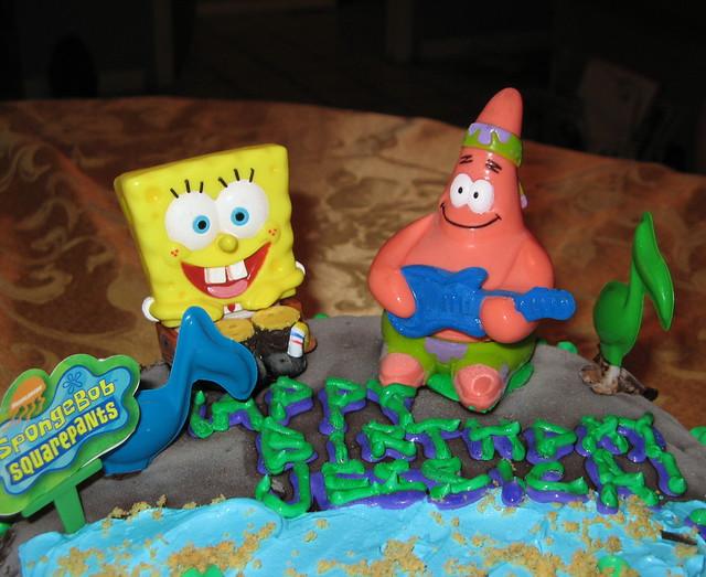 Messed Up Spongebob Cake