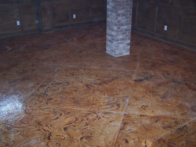 basement concrete stain flickr photo sharing