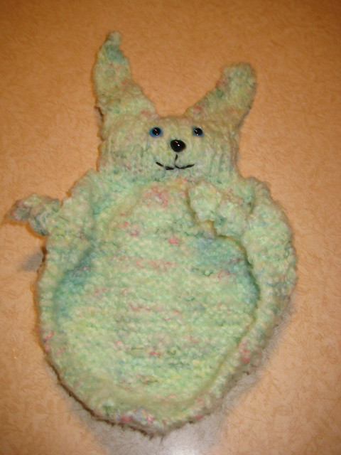 Green Blanket Buddy done!