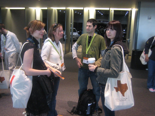 @ArielWaldman @Ang @Ori and @Veronica. Photo @t SxSW 2008.