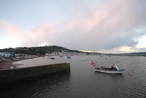 Timelapse #2 - Teignmouth Harbour Sunset (01.02.2008)