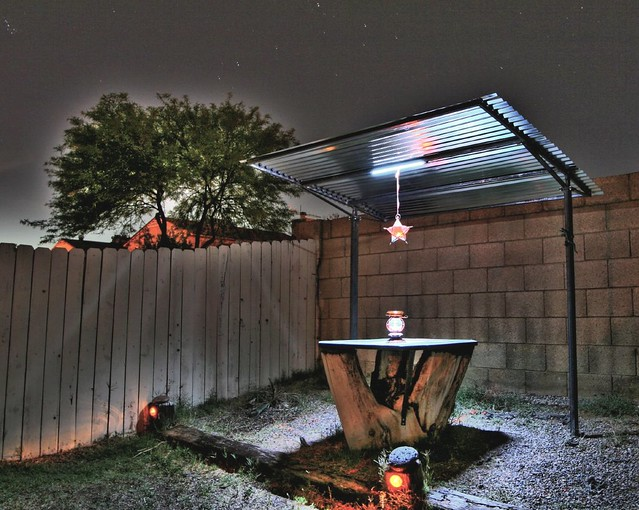 gazebo with solar powered led lighting flickr photo sharing