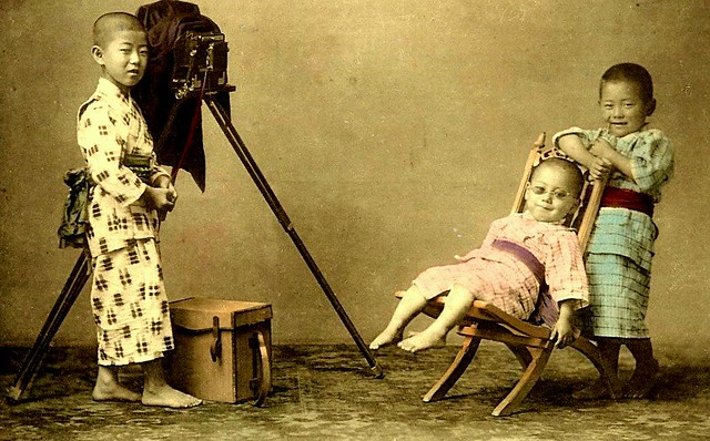 A Young Photographer In Old Japan 2 Late Meiji Or