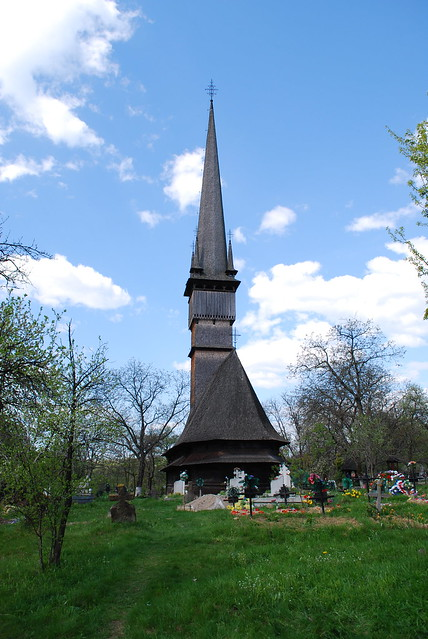 The Wooden Church of Surdesti