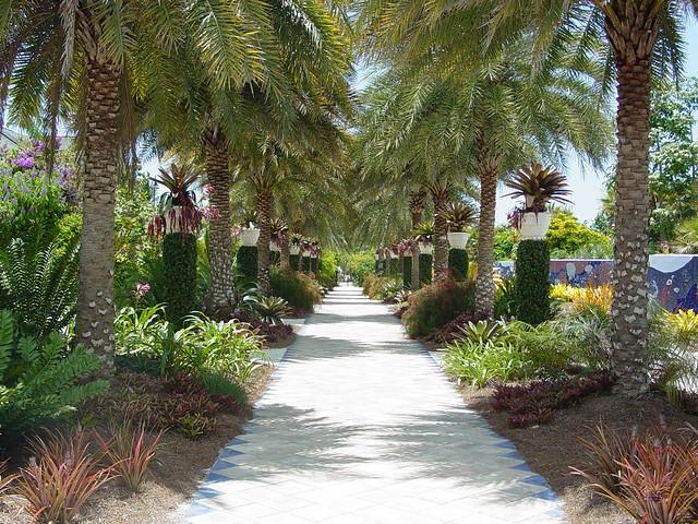Naples Botanical Gardens Mosaic Garden Flickr Photo