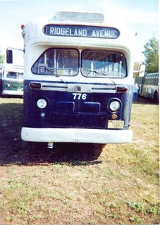 West Towns Bus Company # 776. A 1950 General motors transit bus. The Midwest transit Bus museum. Cresthill Illinois. September 2000. by Eddie from Chicago