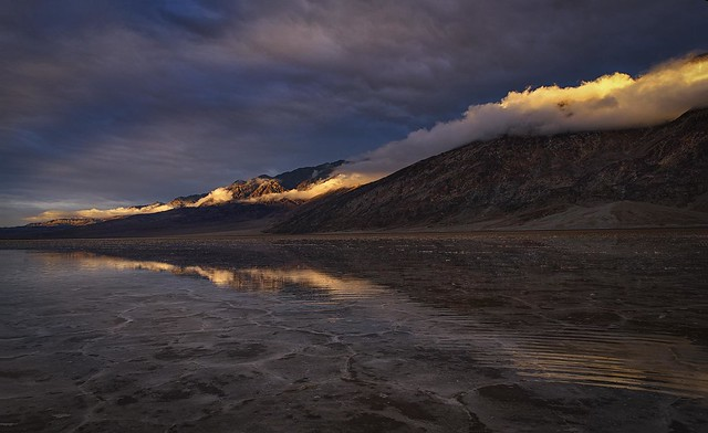 A Stormy Night At Badwater Basin