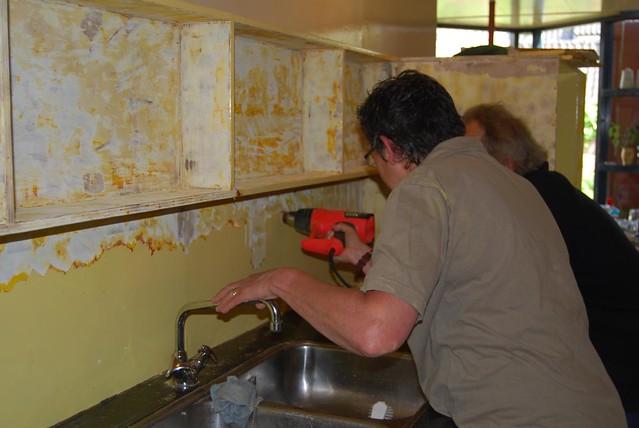 schilderen keuken