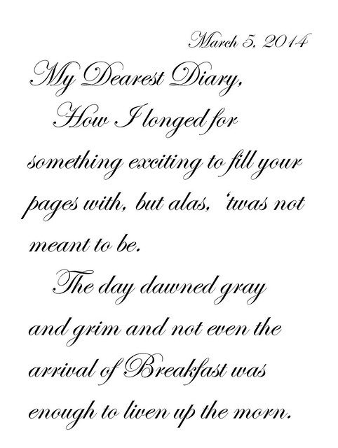 My Dearest Diary