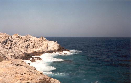 La mer à Paros