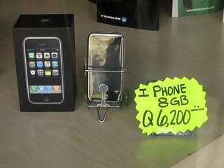 iPhone en la Zona