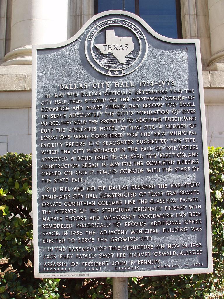 Dallas City Hall 1914-1978