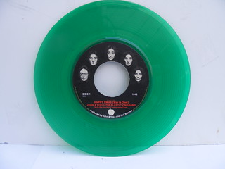 John Lennon Happy Xmas 45 Green Vinyl!