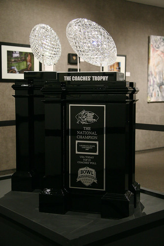 3162m LSU BCS Coaches Trophy