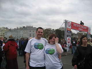 Me and Tasha - Sport Relief 2008 @ Plymouth