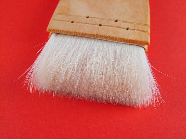 防塵法-羊毛刷刷毛特寫