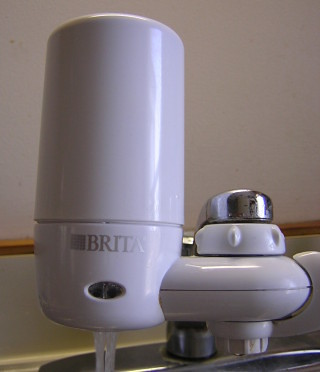 Faucet-Mounted filter