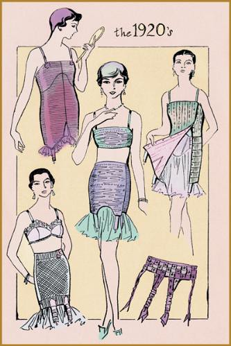 1920 vintage shapewear - from Joan Thewlis on flickr