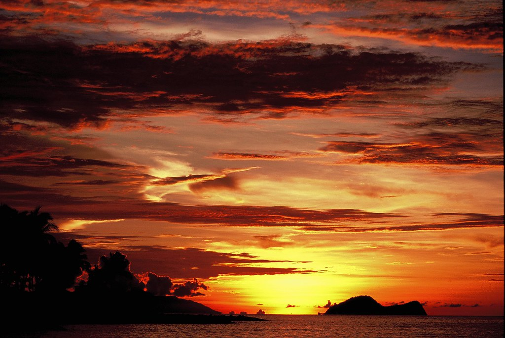 Пляж Damai. Бали, Индонезия.