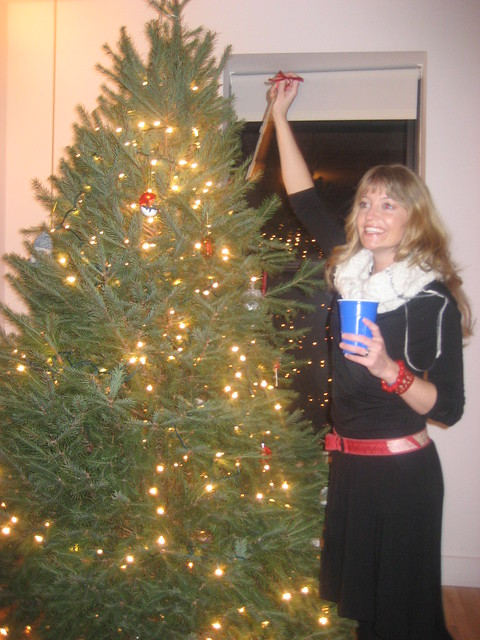 BYOTTHOTMFT party (aka Tree Trimmin) at my apt