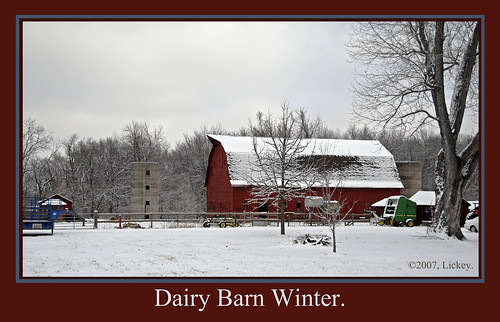 winter snow barn rural farm silo dairy redbarn dairybarn johndeere lifeasiseeit abigfave platinumphoto anawesomeshot colorphotoaward theunforgettablepictures eliteimages betterthangood platnumheartaward goldstaraward